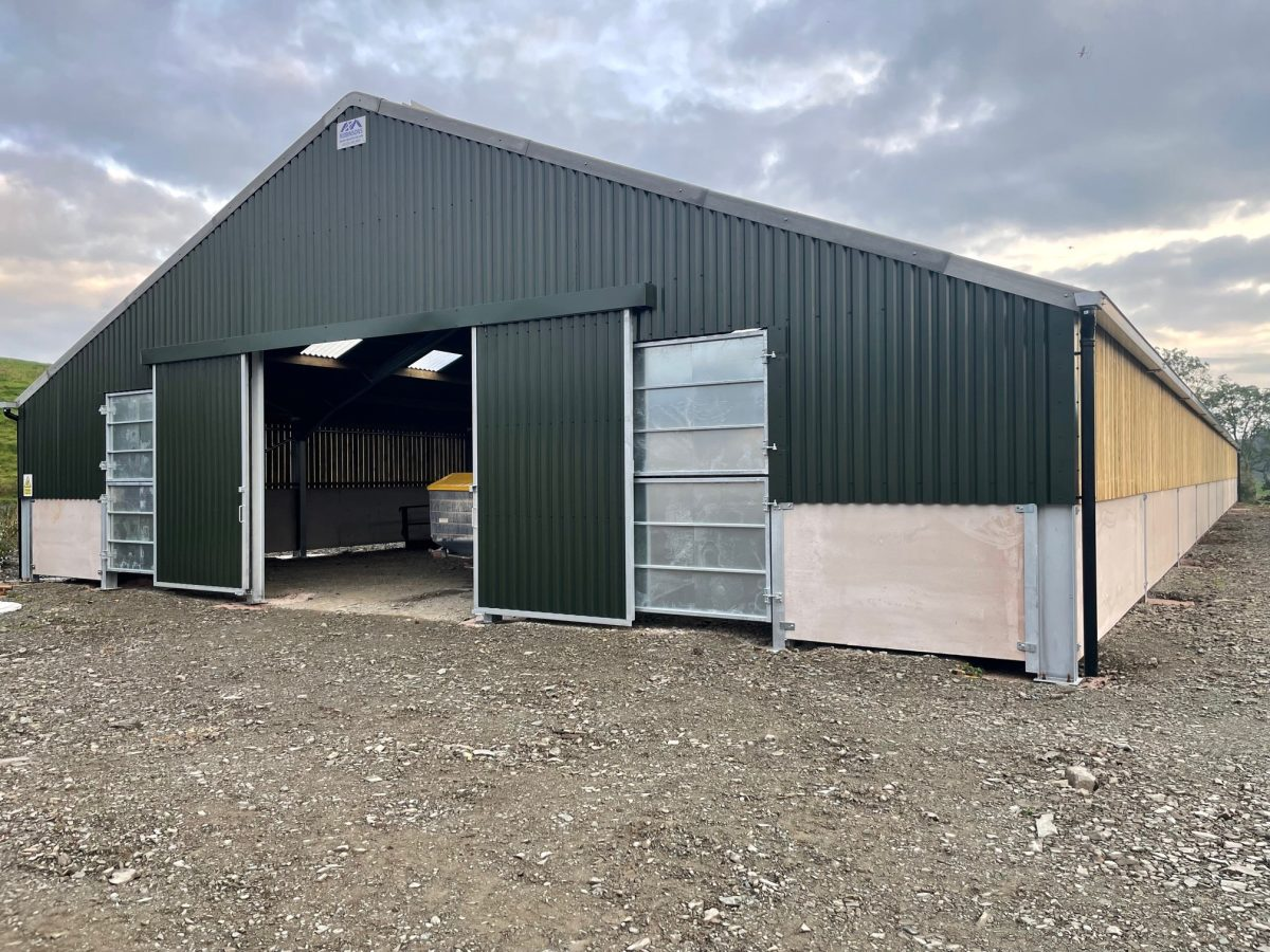 Example of our Panels on an Agricultural building
